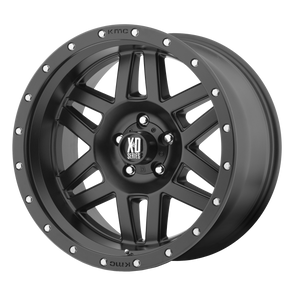 XD SERIES BY KMC WHEELS MACHETE SATIN BLACK - rons-rims-inc