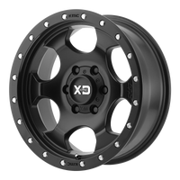 XD SERIES BY KMC WHEELS RG1 SATIN BLACK - rons-rims-inc