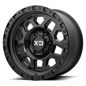 XD SERIES BY KMC WHEELS RG2 SATIN BLACK - rons-rims-inc