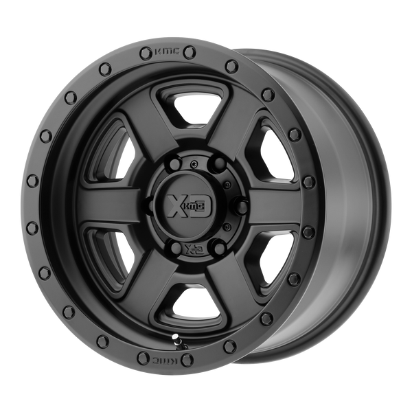 XD SERIES BY KMC WHEELS FUSION OFF-ROAD SATIN BLACK - rons-rims-inc