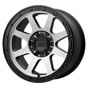 XD SERIES BY KMC WHEELS ADDICT 2 MATTE BLACK MACHINED - rons-rims-inc