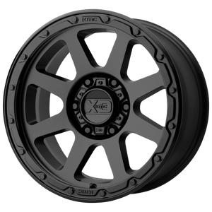 XD SERIES BY KMC WHEELS ADDICT 2 MATTE BLACK - rons-rims-inc