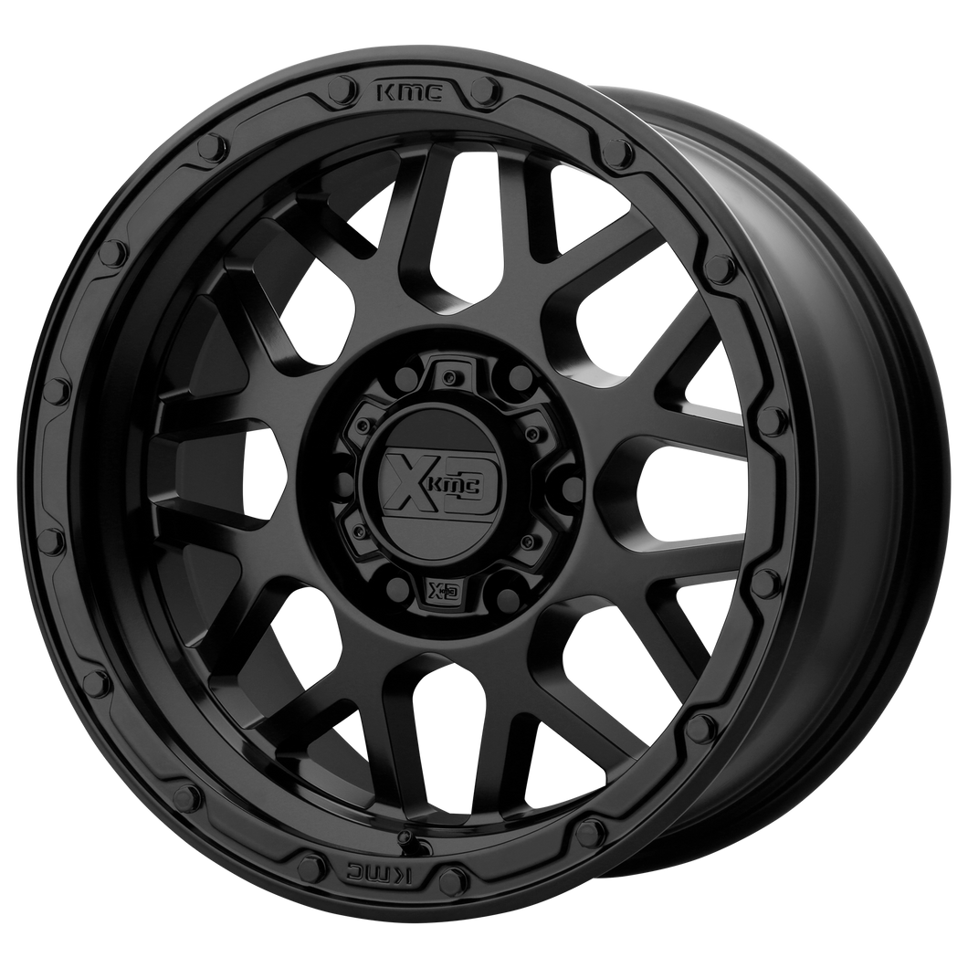 XD SERIES BY KMC WHEELS GRENADE OR MATTE BLACK - rons-rims-inc