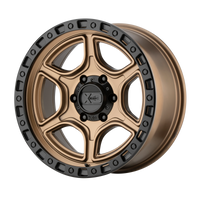 XD SERIES BY KMC WHEELS PORTAL SATIN BRONZE W/ SATIN BLACK LIP - rons-rims-inc