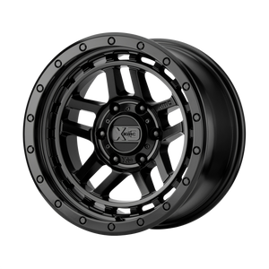 XD SERIES BY KMC WHEELS RECON SATIN BLACK - rons-rims-inc