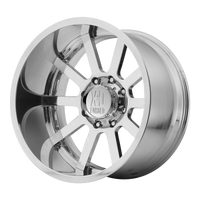 XD SERIES BY KMC WHEELS DAISY CUTTER HIGH LUSTER POLISHED - rons-rims-inc