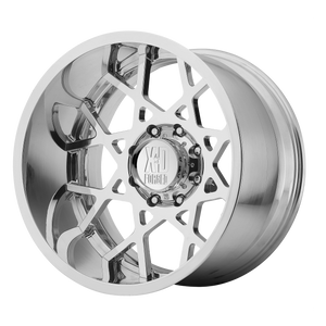 XD SERIES BY KMC WHEELS CHOPSTIXS HIGH LUSTER POLISHED - rons-rims-inc