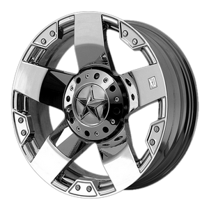 XD SERIES BY KMC WHEELS ROCKSTAR CHROME - rons-rims-inc