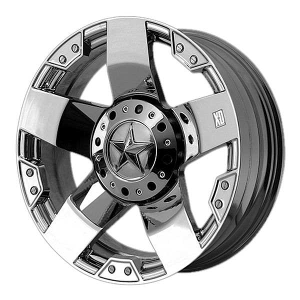 XD SERIES BY KMC WHEELS ROCKSTAR CHROME