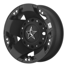 Load image into Gallery viewer, XD SERIES BY KMC WHEELS ROCKSTAR DUALLY MATTE BLACK REAR - rons-rims-inc