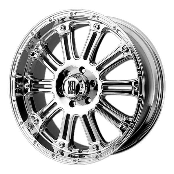 XD SERIES BY KMC WHEELS HOSS CHROME - rons-rims-inc