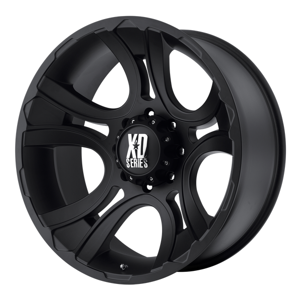 XD SERIES BY KMC WHEELS CRANK MATTE BLACK - rons-rims-inc