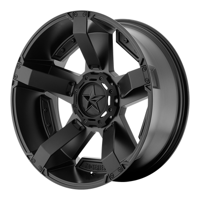 XD SERIES BY KMC WHEELS RS2 MATTE BLACK W/ ACCENTS - rons-rims-inc
