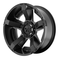 XD SERIES BY KMC WHEELS RS2 MATTE BLACK W/ ACCENTS