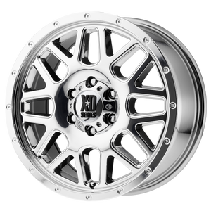 XD SERIES BY KMC WHEELS GRENADE CHROME - rons-rims-inc