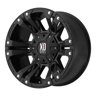 XD SERIES BY KMC WHEELS MONSTER 2 MATTE BLACK - rons-rims-inc