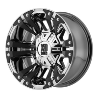 XD SERIES BY KMC WHEELS MONSTER 2 PVD - rons-rims-inc