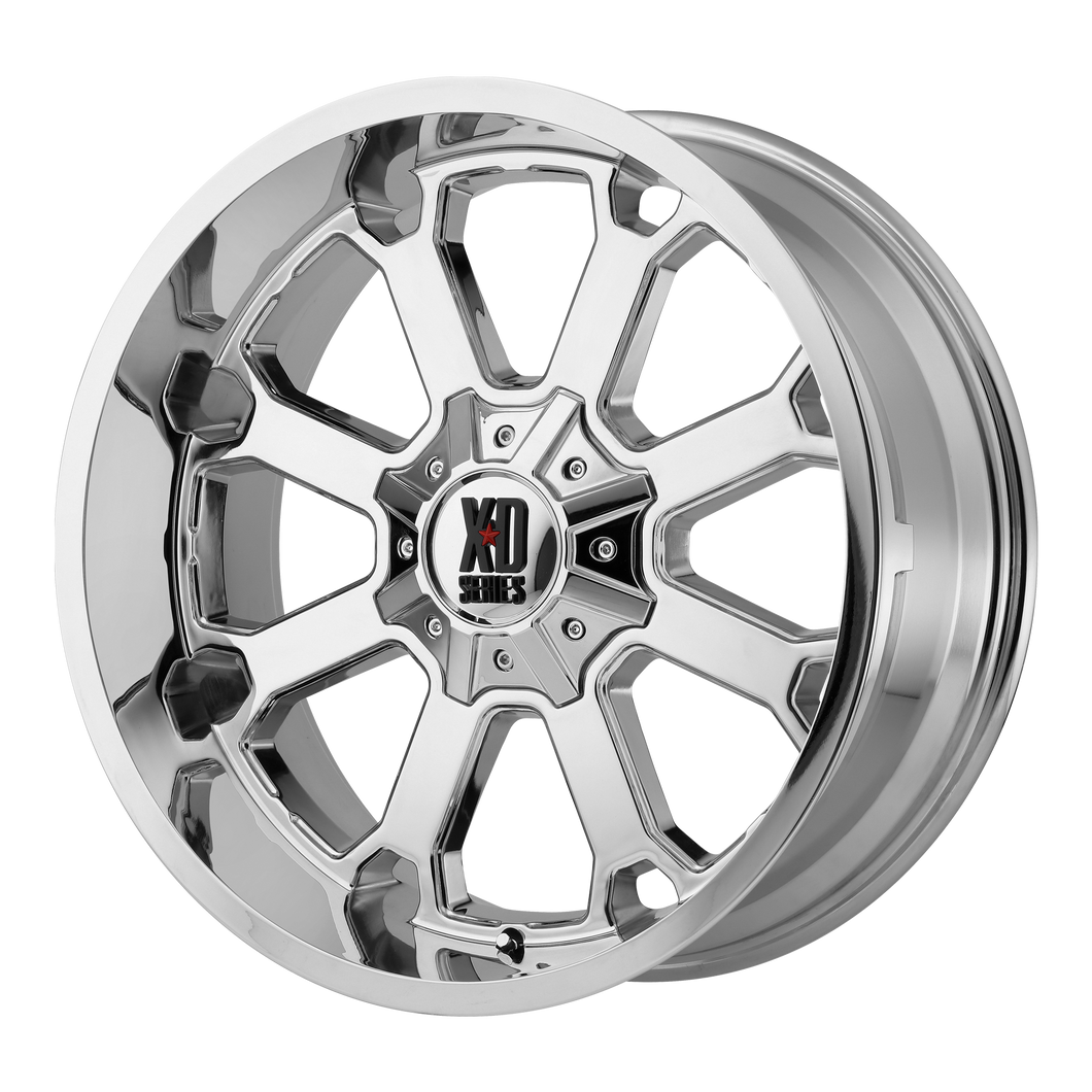 XD SERIES BY KMC WHEELS BUCK 25 CHROME - rons-rims-inc