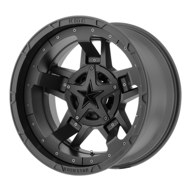 XD SERIES BY KMC WHEELS RS3 MATTE BLACK - rons-rims-inc