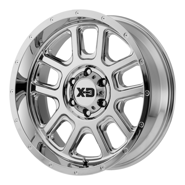 XD SERIES BY KMC WHEELS DELTA CHROME - rons-rims-inc