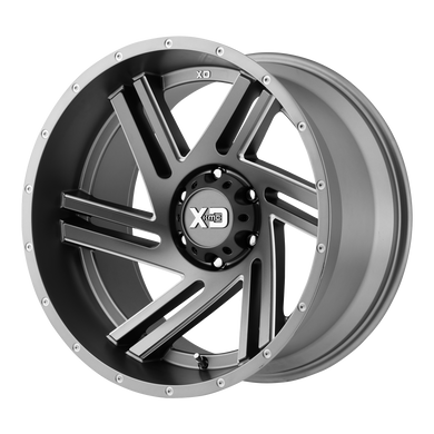 XD SERIES BY KMC WHEELS SWIPE SATIN GRAY MILLED - rons-rims-inc