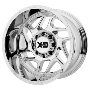 XD SERIES BY KMC WHEELS FURY CHROME - rons-rims-inc