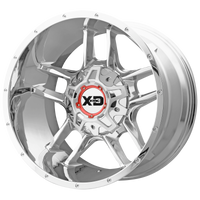 XD SERIES BY KMC WHEELS CLAMP CHROME