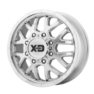 XD SERIES BY KMC WHEELS GRENADE DUALLY CHROME - FRONT - rons-rims-inc
