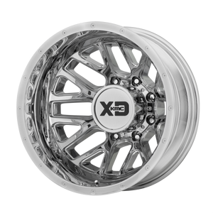 XD SERIES BY KMC WHEELS GRENADE DUALLY CHROME - REAR - rons-rims-inc