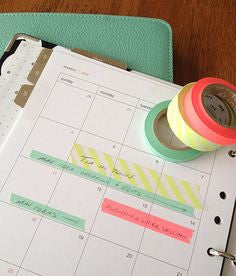 Organize your planner and your life with these small ideas