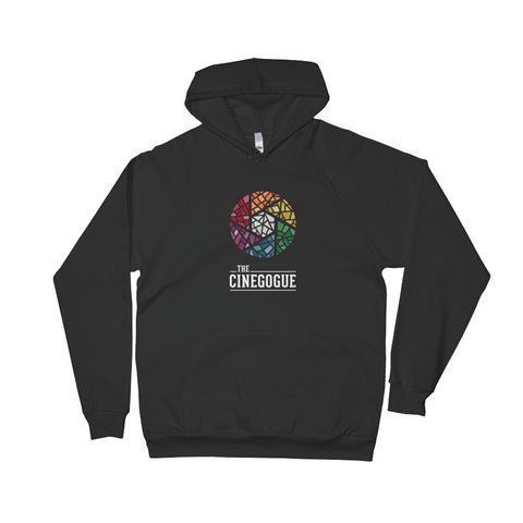 The Cinegogue Hooded Sweatshirt (Black)