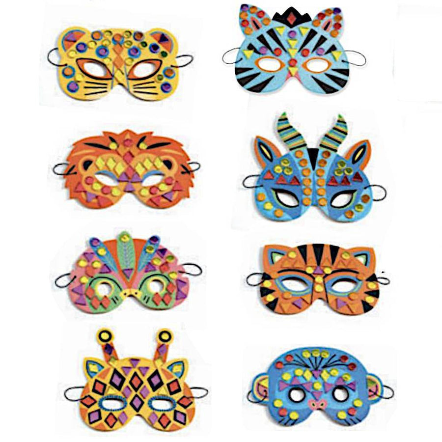 jungle animal masks - Pink and Brown Boutique