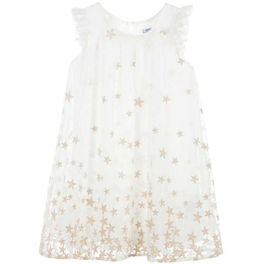 Embroidered Star Dress - Pink and Brown Boutique
