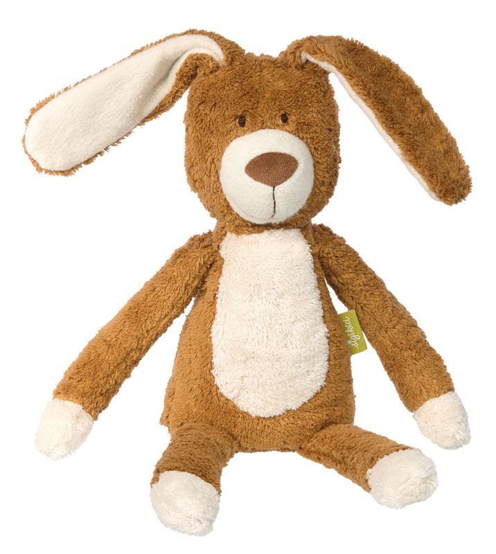 Organic Plush Bunny - Pink and Brown Boutique
