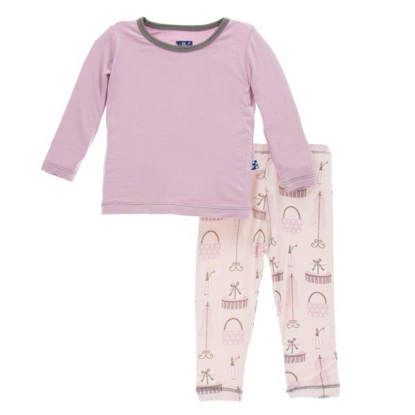Bamboo Pajama Set in Paris Shopping