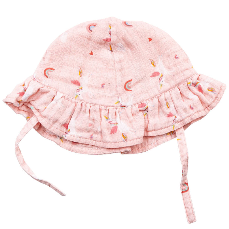 unicorn sunhat - Pink and Brown Boutique