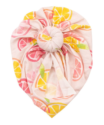 Citrus headwrap - Pink and Brown Boutique