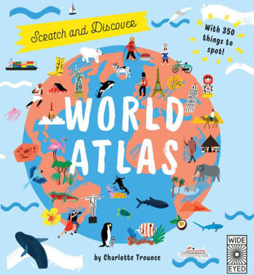 scratch and learn world atlas - Pink and Brown Boutique