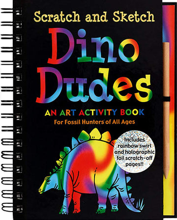 dino dudes scratch and sketch - Pink and Brown Boutique