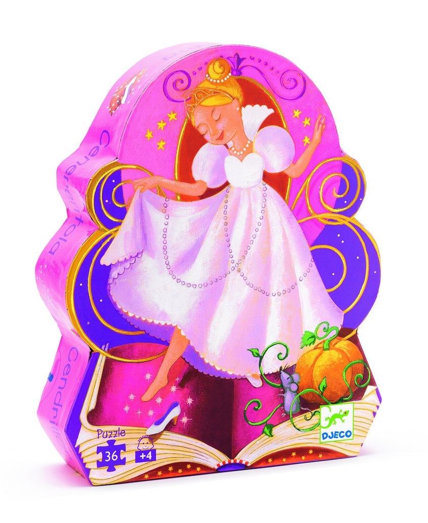 cinderella silhouette puzzle - Pink and Brown Boutique