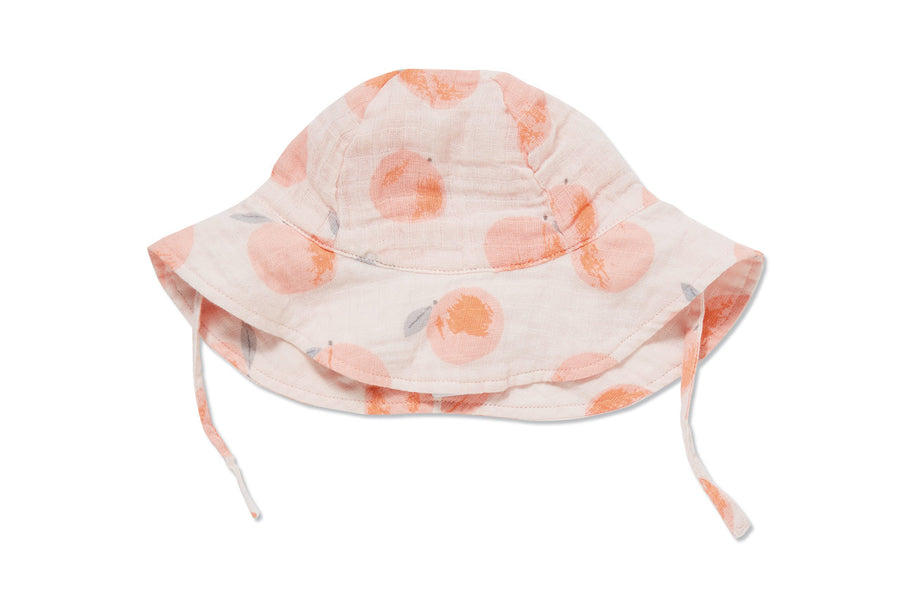 peachy sunhat - Pink and Brown Boutique