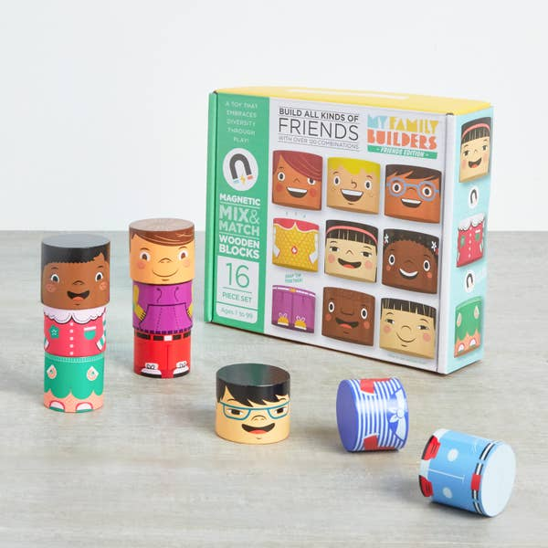 build friends and family magnetic - Pink and Brown Boutique