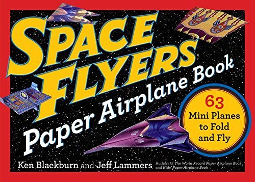 space flyers paper airplane book - Pink and Brown Boutique