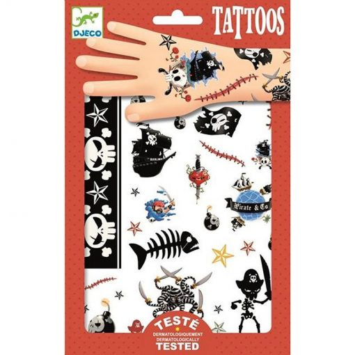 Tattoos pirates - Pink and Brown Boutique
