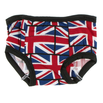 training pants in union jack - Pink and Brown Boutique
