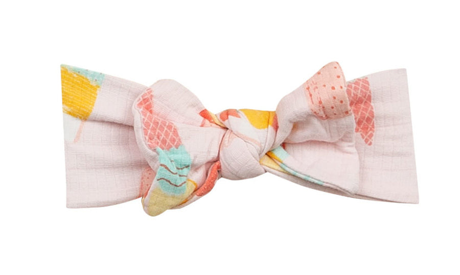 cool sweet print headband - Pink and Brown Boutique