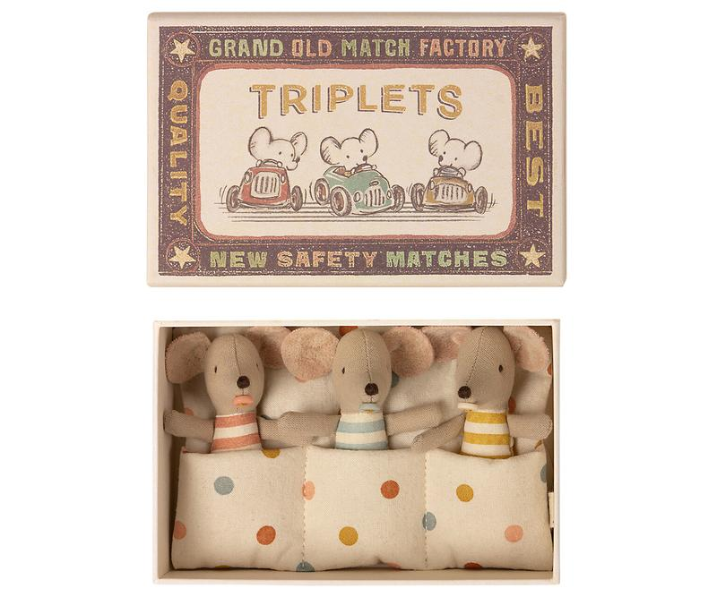 triplets mice - Pink and Brown Boutique