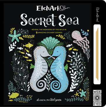 secret sea etch art - Pink and Brown Boutique