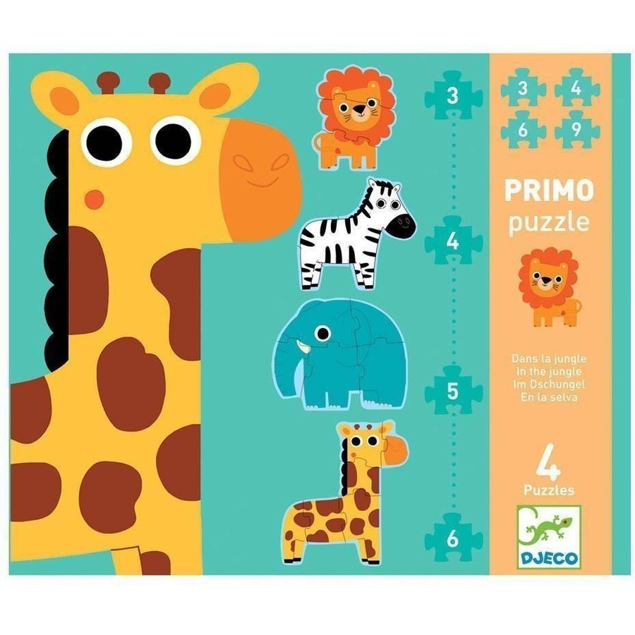 safari animal puzzle - Pink and Brown Boutique