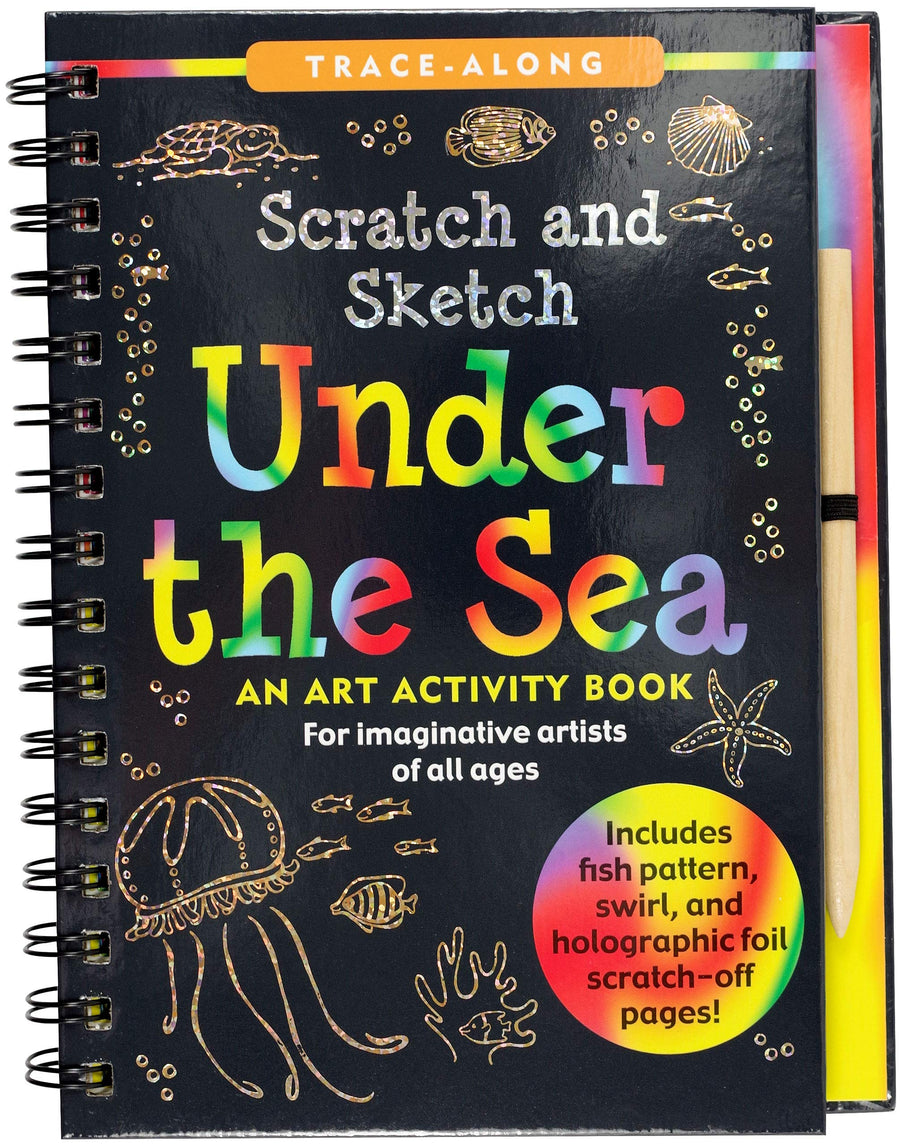 under the sea scratch and sketch - Pink and Brown Boutique